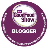 Munchies and munchkins BBC Good Food Show Blogger badge