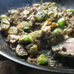 Sprouts Recipe – Bacon, Chestnut & Cream