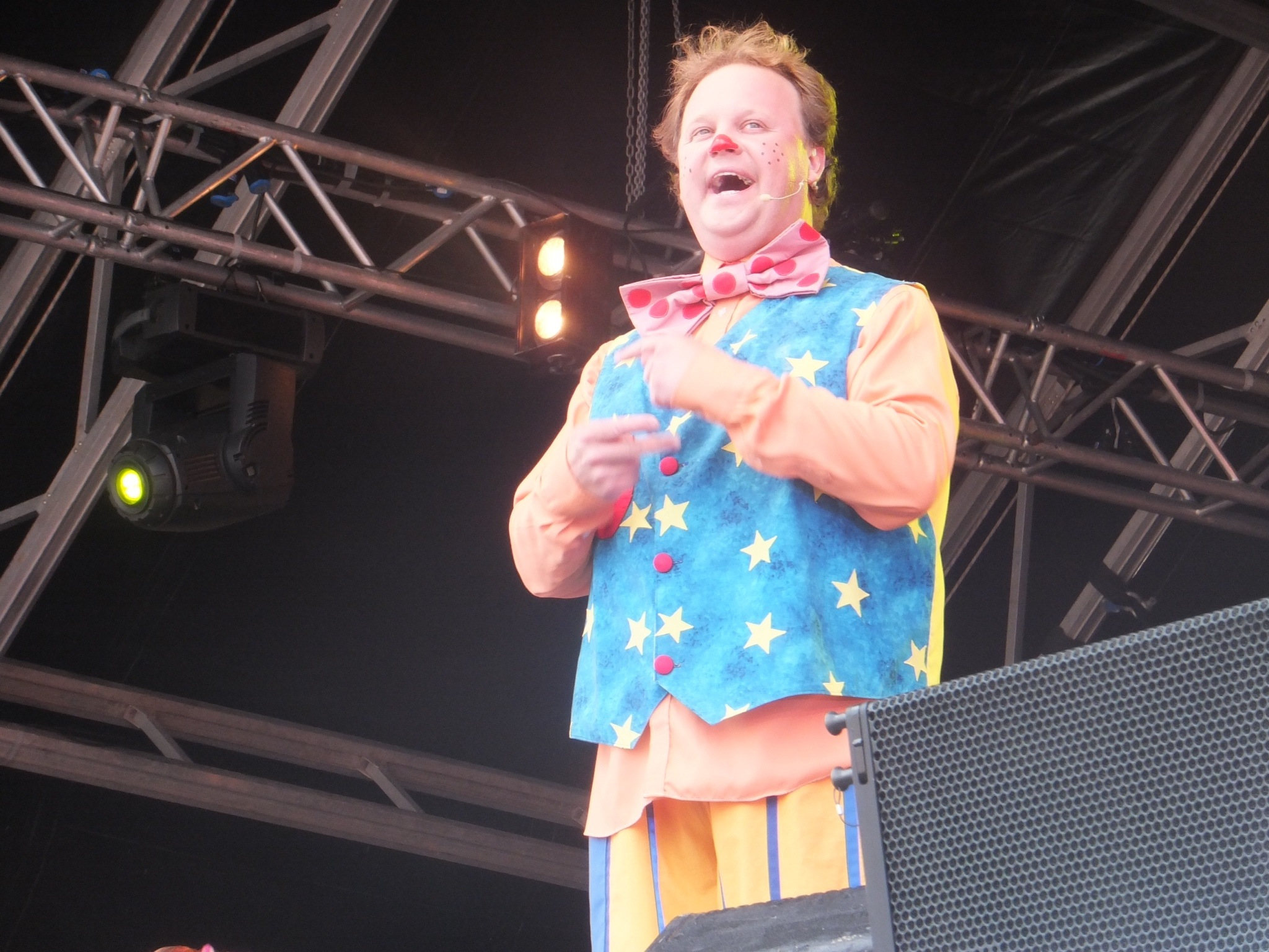 Mr tumble at camp bestival