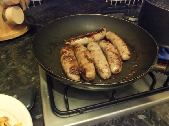 Sticky sausages