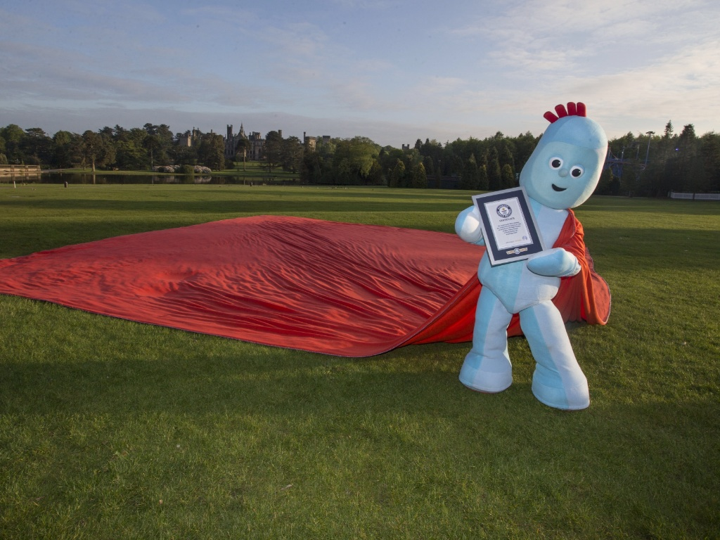 Iggle Piggle record breaking blanket