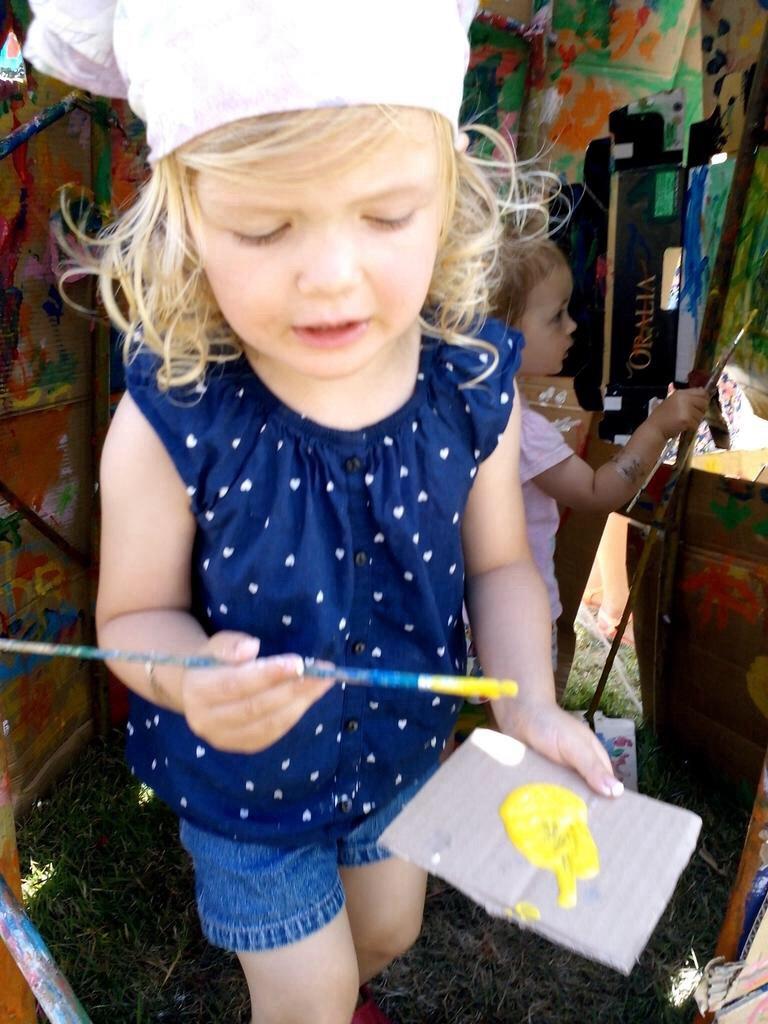 camp festival art town