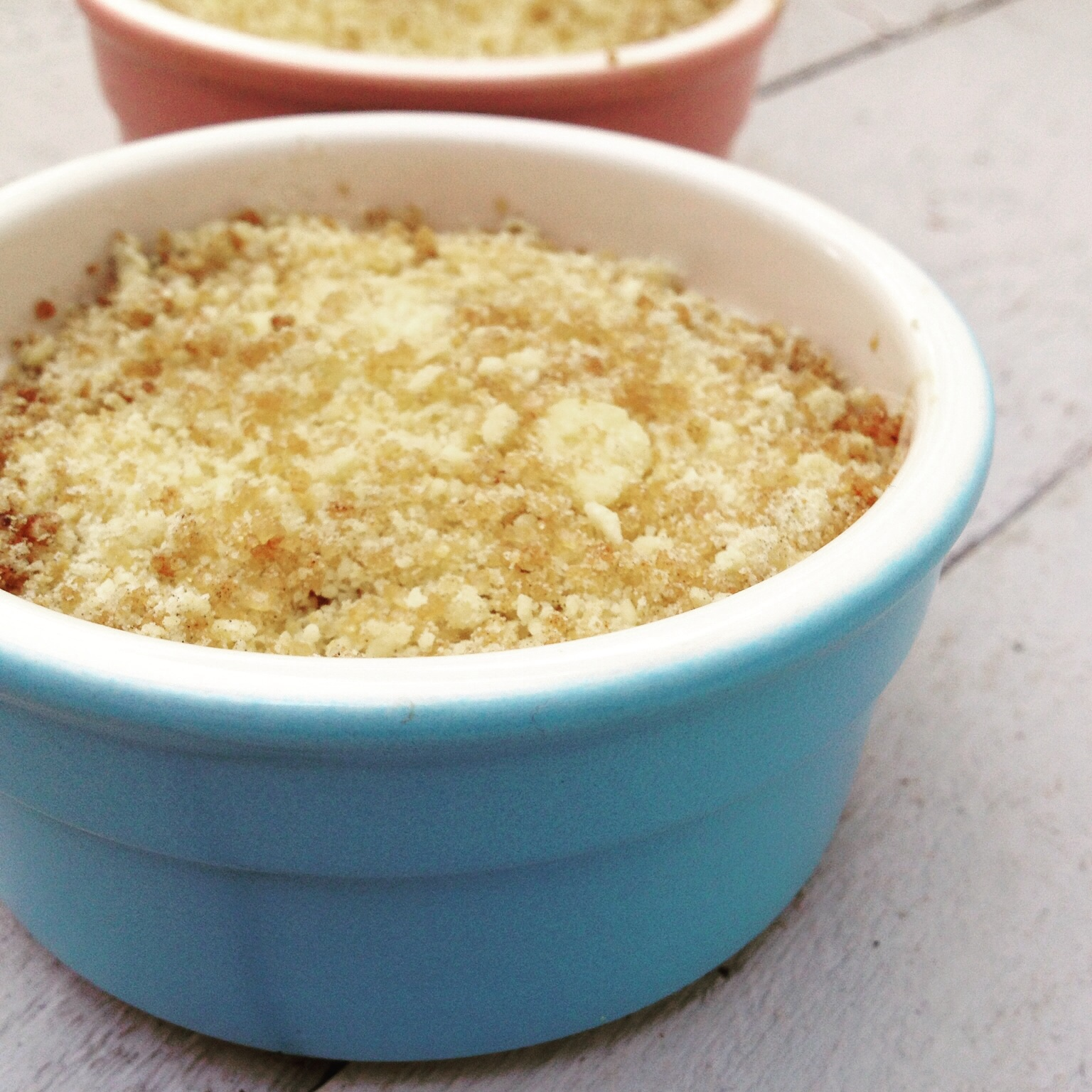 Apple and carrot gluten free crumble