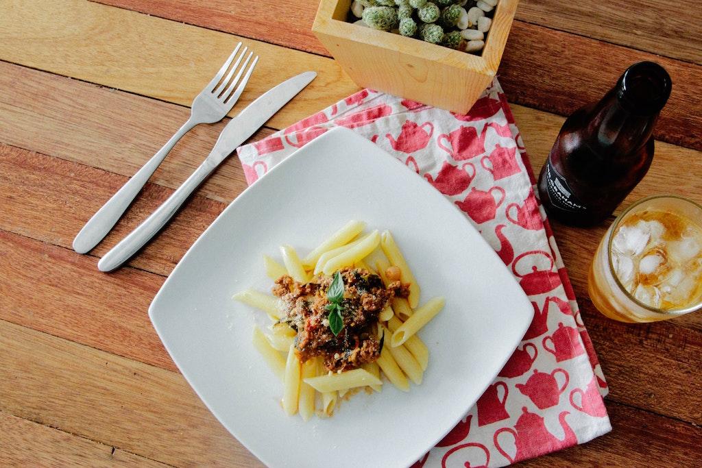 leftover bolognese sauce