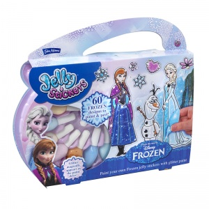 Frozen jelly stickers