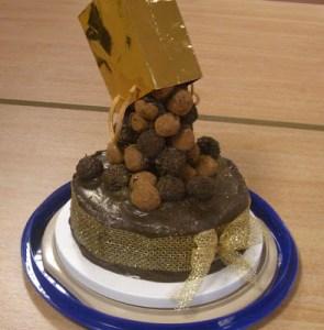 Cascade cake 1