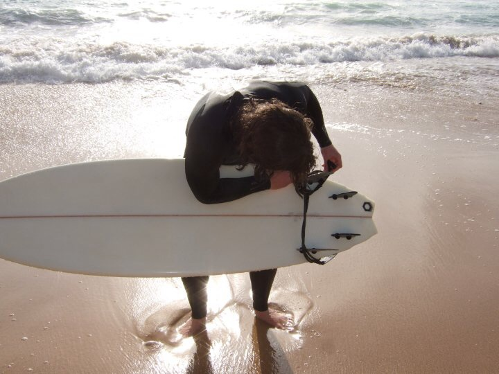 Portugal surfing image