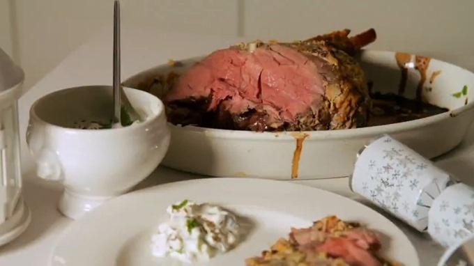 Tandoori lamb roast