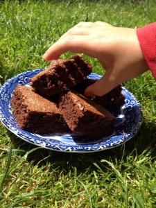 nutella 3 ingredient brownies