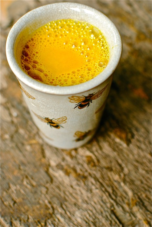 golden turmeric tea