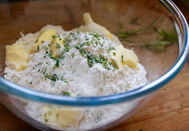 rosemary butter scones