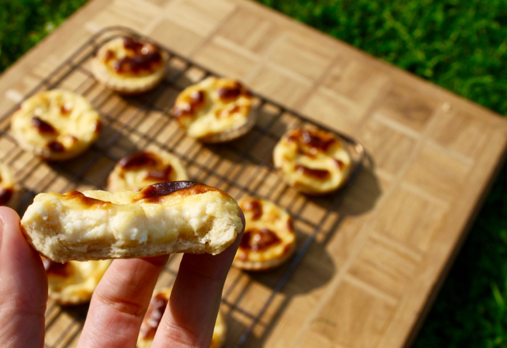portuguese tarts shortcrust pastry