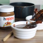 Candied Bacon With Nutella Dipping Sauce