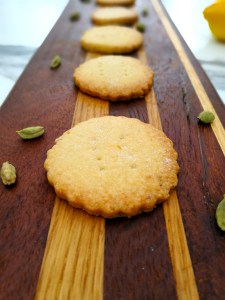 Lemon And Cardamom Shortbread