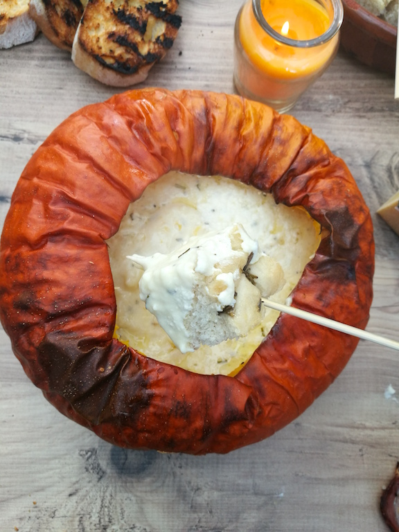 Pumpkin And Comté Cheese Fondue