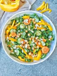 Chickpea and Arugula Salad