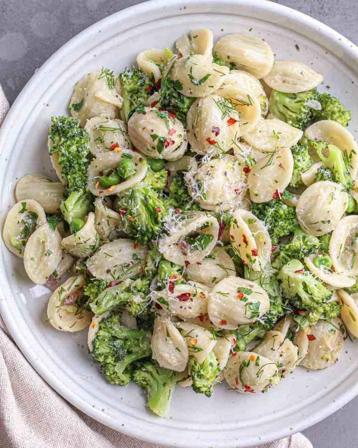 Orecchiette with Broccoli & Peas
