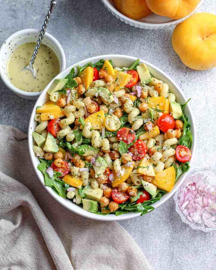 Arugula & Cavatappi Salad