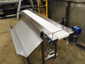 Conveyors for oranges