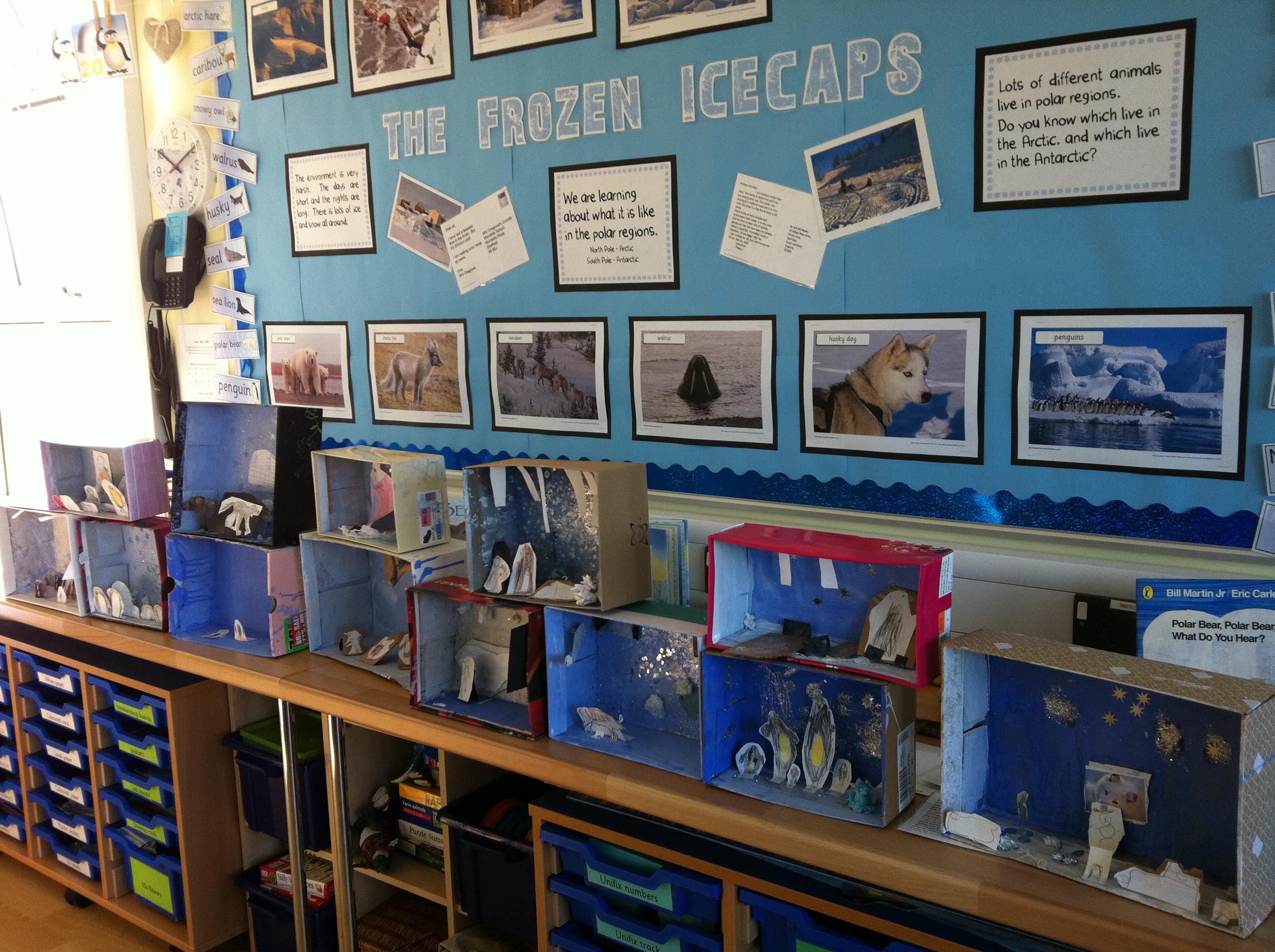 Our Shoebox Scenes Mrs Cosgroves Comets