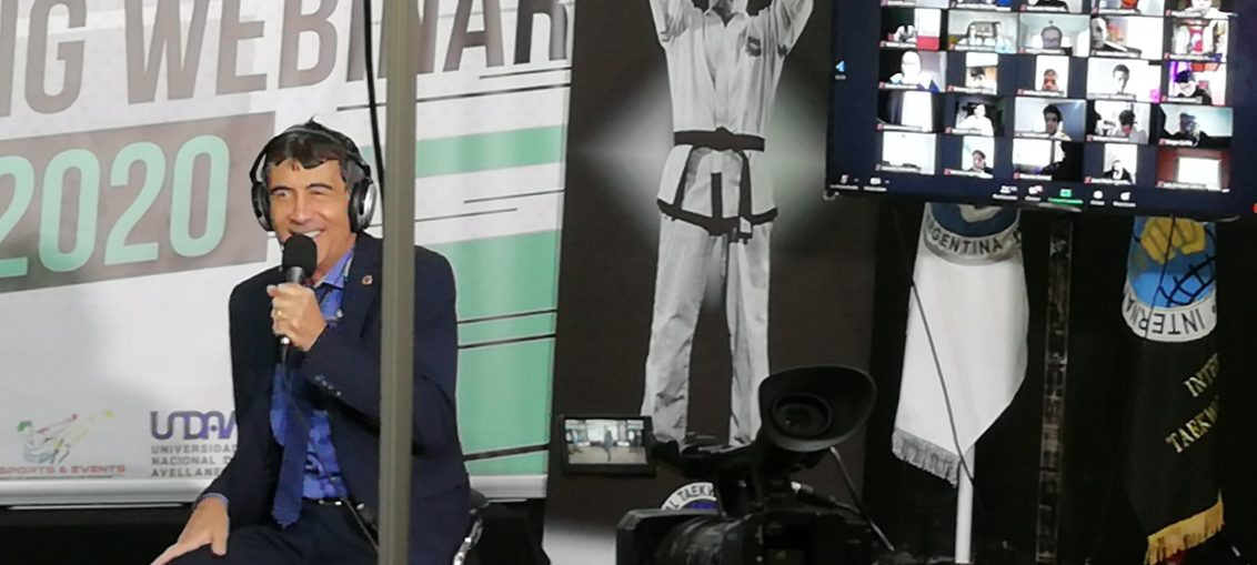 Grand Master Néstor Galarraga Webinar TaekwonDo