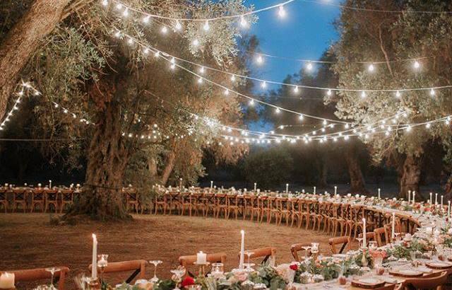 alquiler de luces de feria para bodas en cartagena