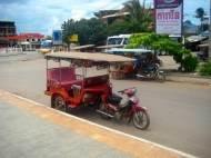 a Cambodian Tuktuk...if it would be street legal in Germany?