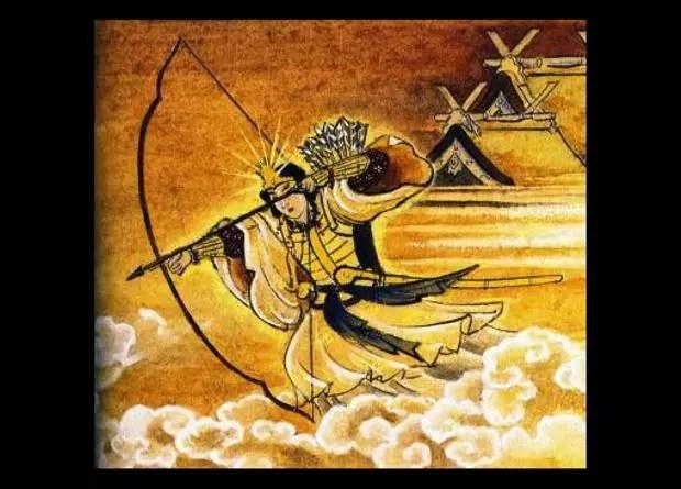 Deusa Amaterasu preparada para lutar contra Susanoo (Foto: Creative Commons)