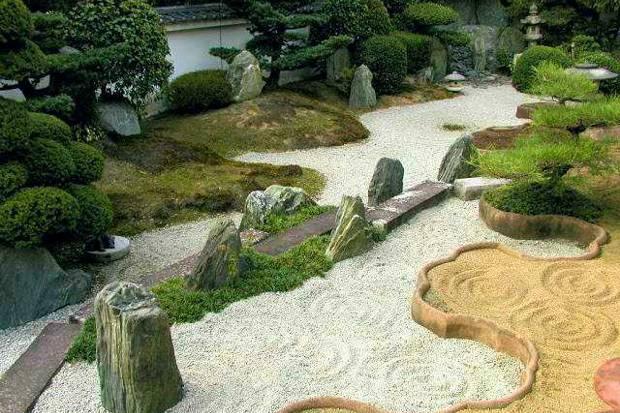 "Jardim japonês ""conceito Zen"" (Foto: SXCPhotos)"