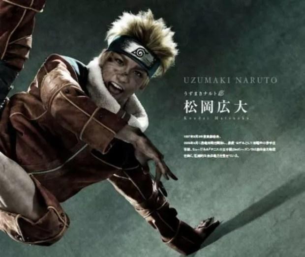 Musical Naruto - Naruto (Foto: Divulgação)