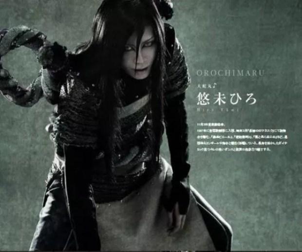 Musical Naruto - Oroshimaru (Foto: Divulgação)