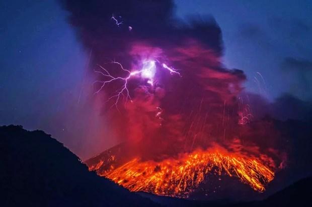 Vulção Sakurajima (Foto: Martin Rietze)