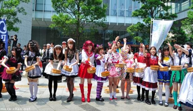 Cosplays são normalmente vistos em Akihabara (Foto: Asianwik)