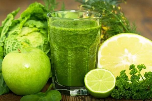 Suco verde com maçã (Foto: Stockvault)
