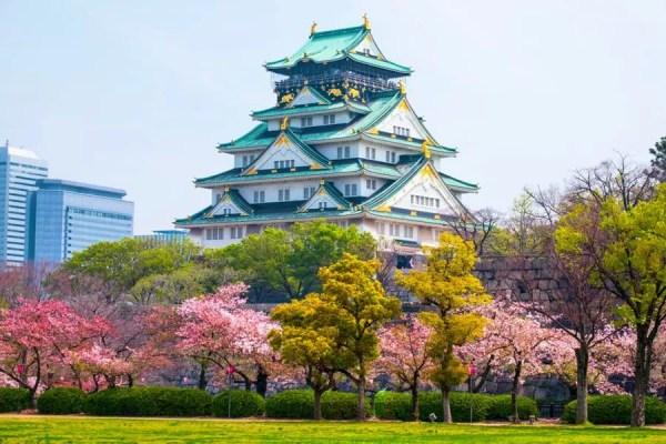 Castelo de Osaka Foto: Sotckvault