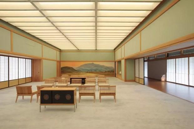 Espaço Yubae-no-Ma (Foto: Divulgação/Kyoto State Guest House)