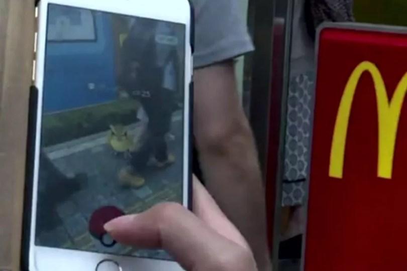 Pokémon Go chega ao Japão (Foto: Reprodução/TV Globo)