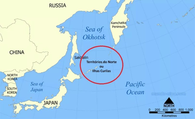 Resultado de imagem para abe ilhas curilas