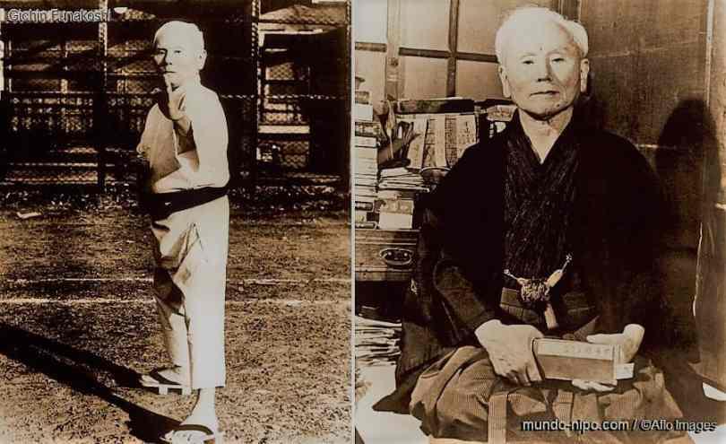 Resultado de imagem para mestre funakoshi