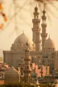 Minaretes Cairo