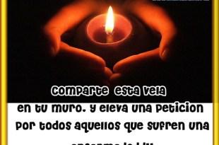 Comparte esta vela