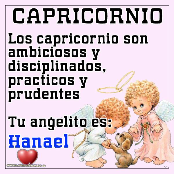 Ángel para los capricornio