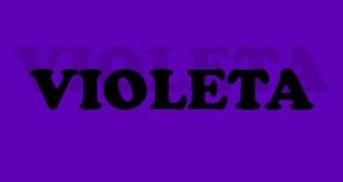 Personalidad aura color violeta