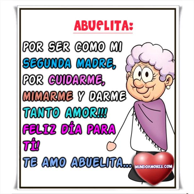 Te amo abuelita