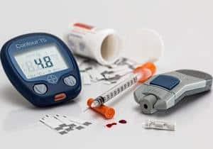 diabetes y medición de azucar en sangre