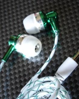 Auriculares fosforescentes