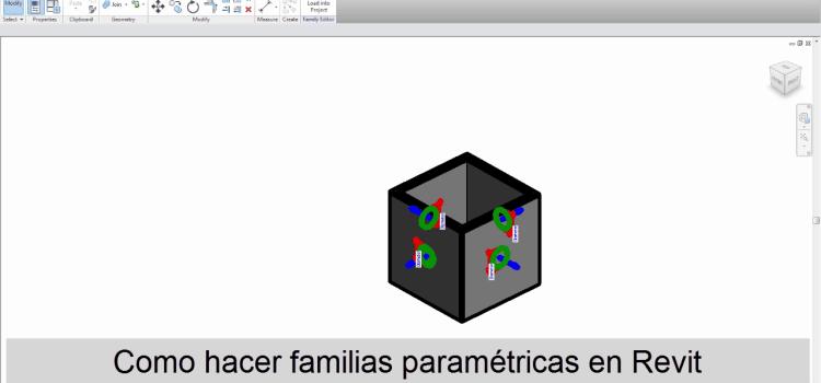 familias paramétricas revit