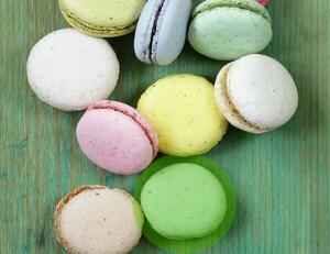 galletas con colorantes naturales