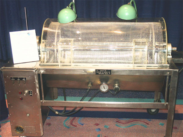 Máquina de diálisis antigua