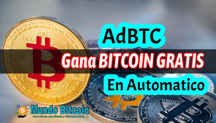 adbtc gana bitcoin gratis en automático todos los días, sitio confiable y seguro
